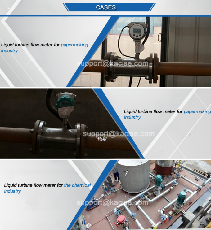 Sanitary Type Tri Clamp Flow Meter Thread Connection For Food Industry 3