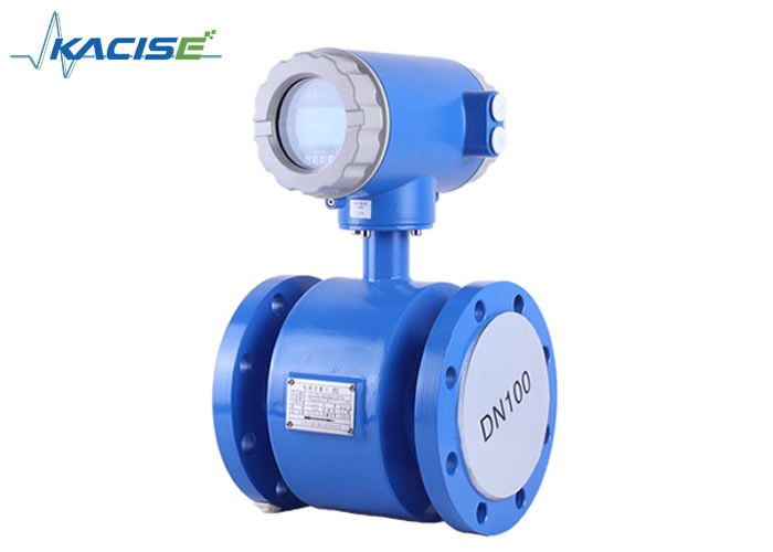 Compact / Integrated Electromagnetic Flow Meter Anti Shake For Chemical Industry