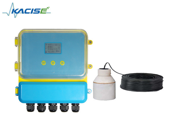 RS485 Split Type Ultrasonic Fluid Level Meter High Accuracy For Water Treatment
