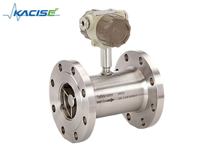Compact Structure Petrol Flow Meter , Stainless Steel Alcohol Flow Meter