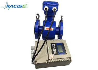 Remote Type Electromagnetic Flow Meter Low Power Consumption Simple Structures