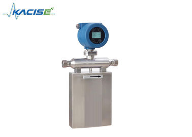 China Fuel Oil Digital Coriolis Mass Flow Meter For Molasses Low Power Consumption factory