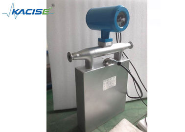 China DN150mm Liquid Density Coriolis Mass Flow Meter With LCD Display CE Approval factory