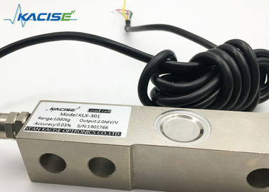 China Compact Shear Beam Compression Load Cell / Alloy Steel Strain Gauge Weight Sensor factory