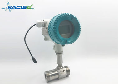 Stainless Steel Turbine Flow Meter LWGY-25 4-20mA Output 1.6-6.3Mpa Pressure