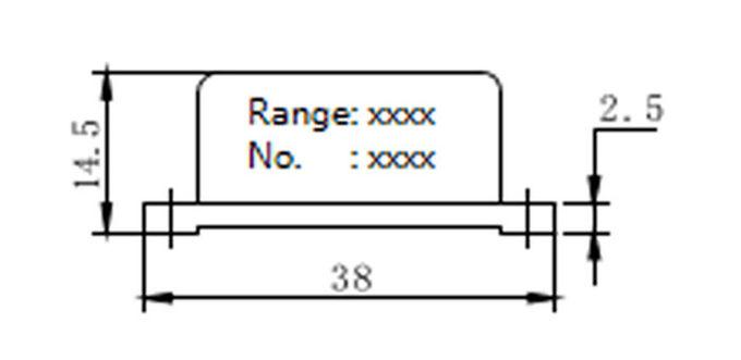 linearity uniaxial accelerometer sensor 0 5
